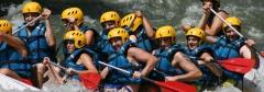 Rafting en el río Ebro